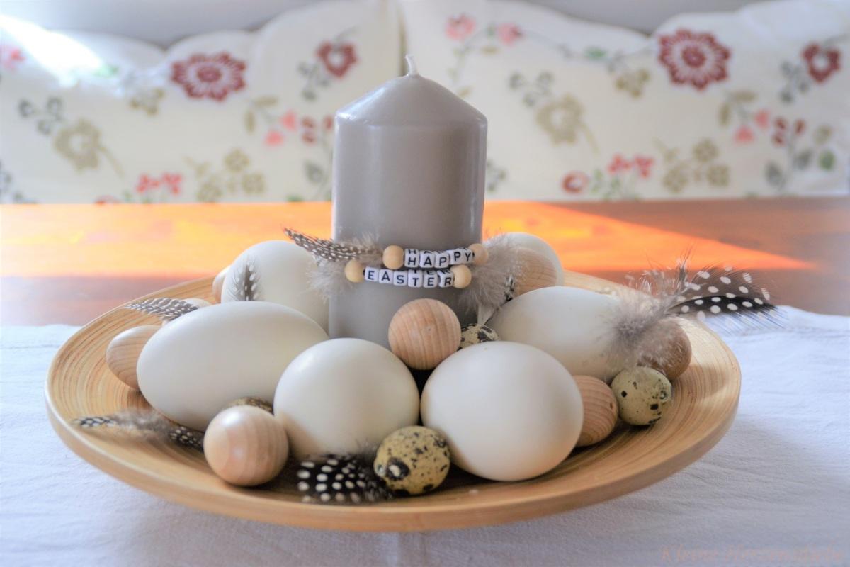 Von hölzernen Hasen und federleichten Eiern - DIY-Deko zu Ostern