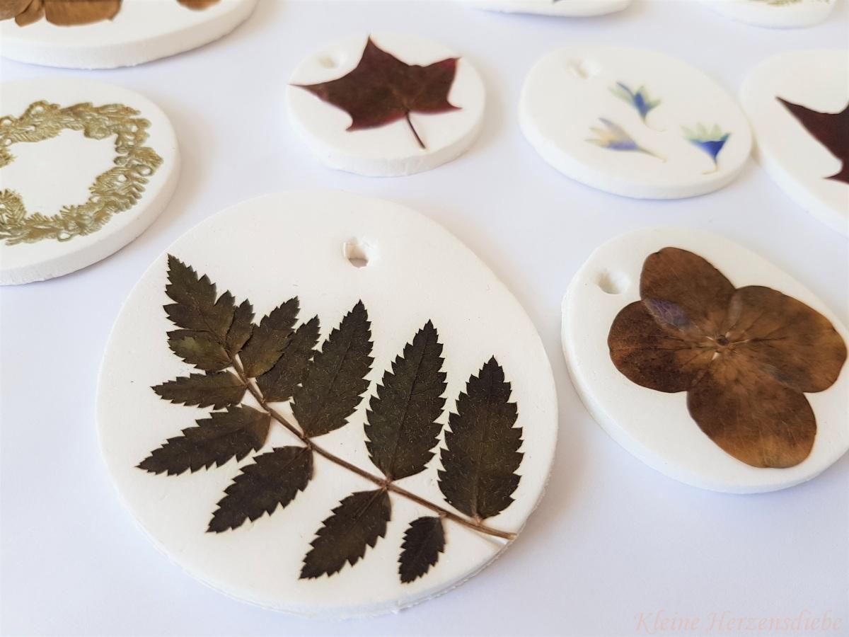 Herbstanhänger-DIY